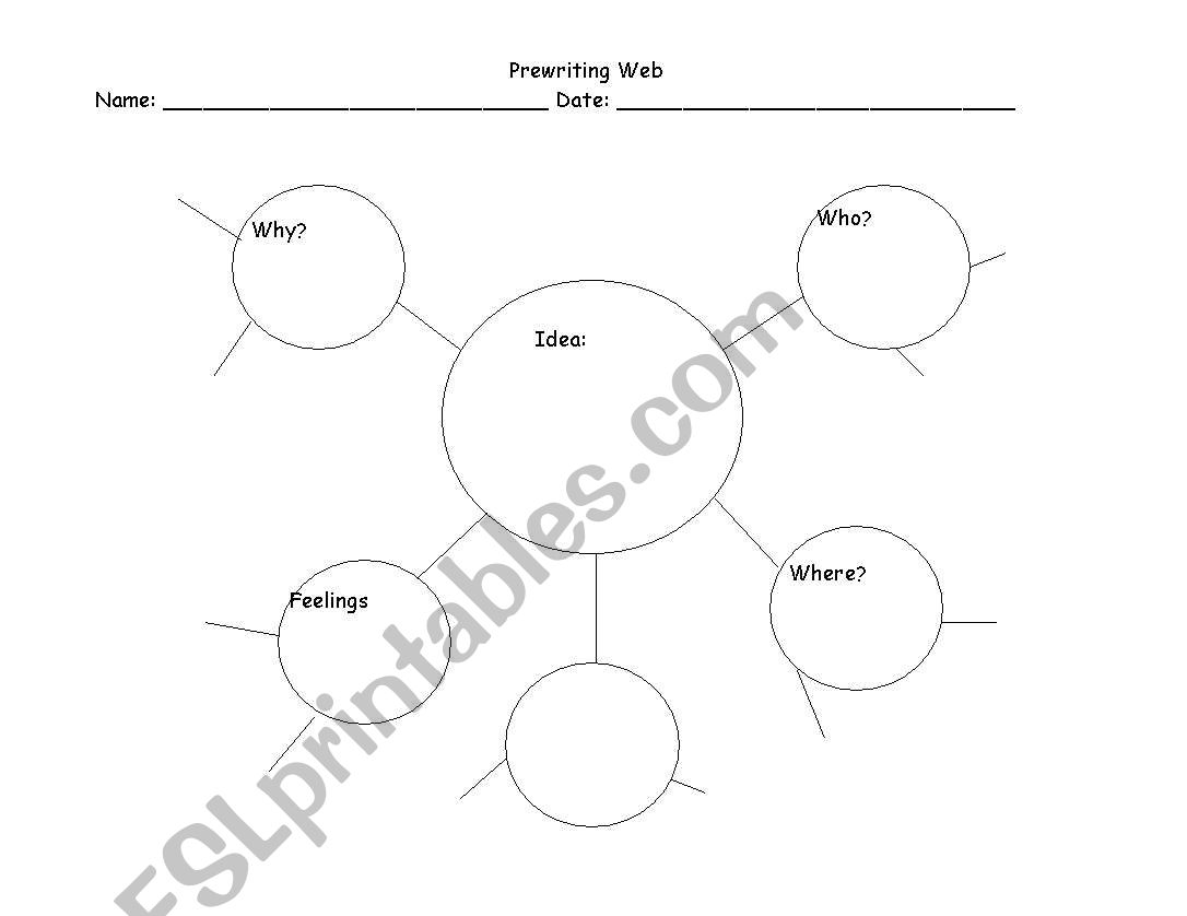 English Worksheets Pre Writing Web