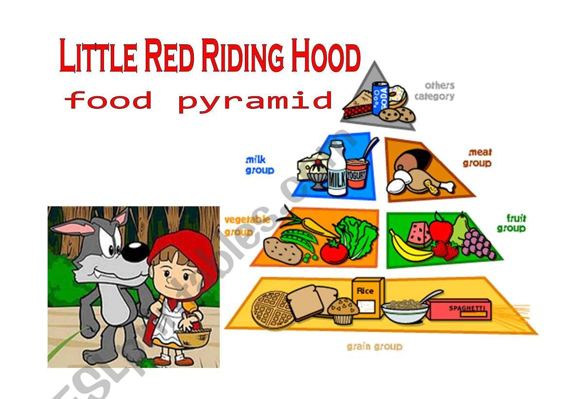 Little Red Riding Hood Food Pyramid