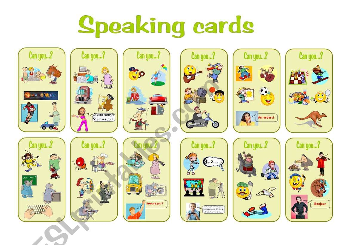 Can Speaking Cards