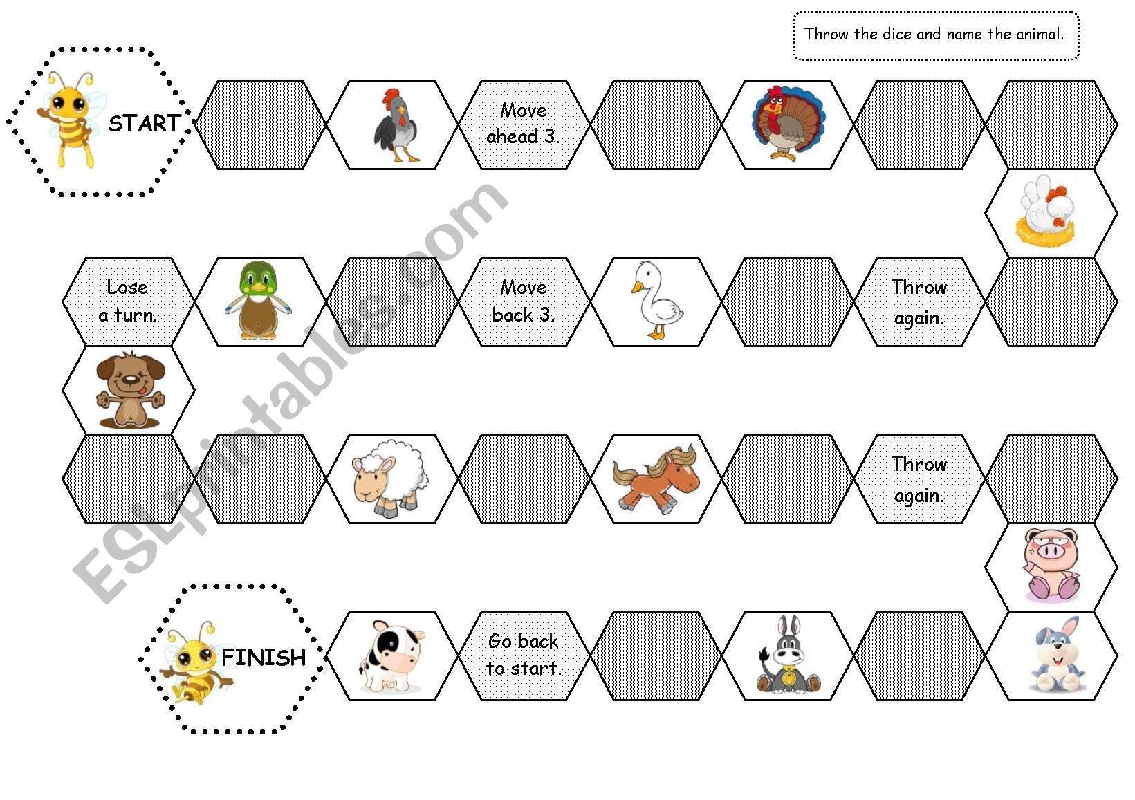 Bee Board Game