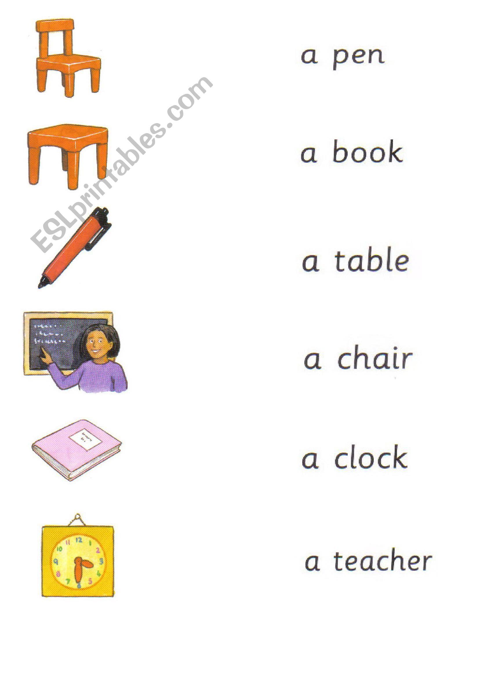 Happy House 2 School Objects