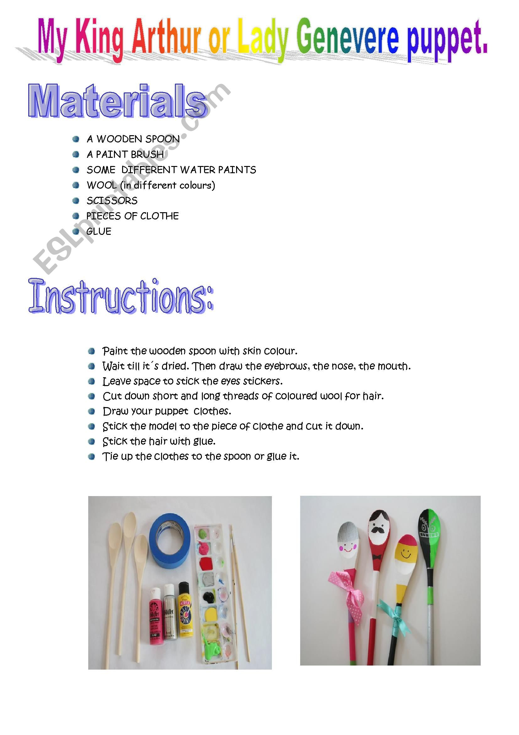 Make Your Own Puppet