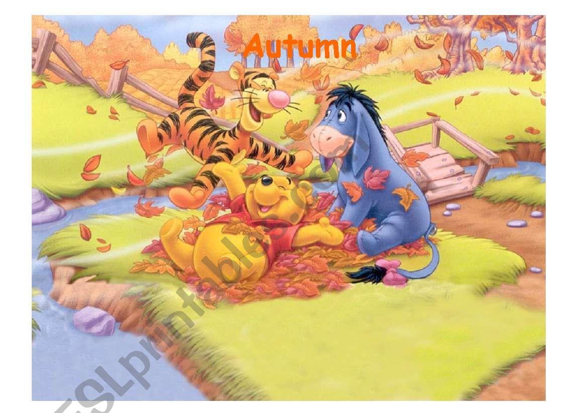 Pooh Autumn