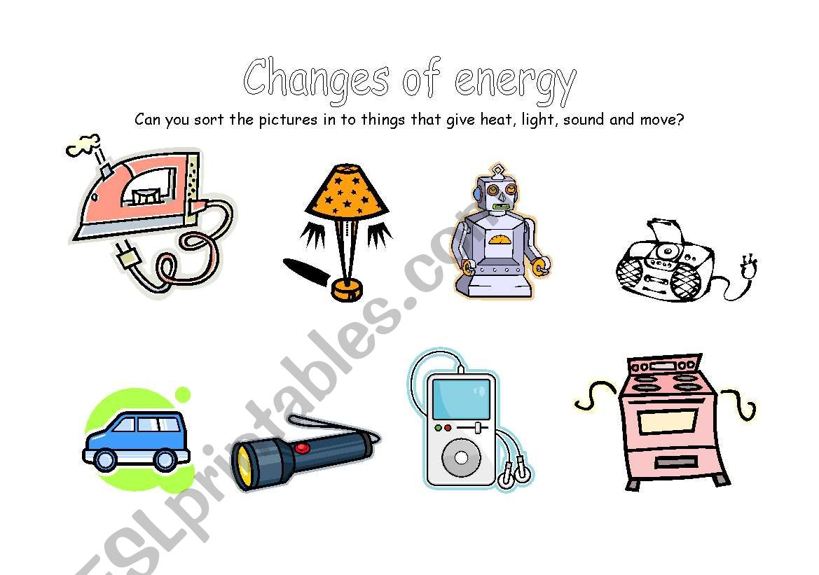 Changes Of Energy