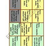 5 Second Rule Board Game Esl Worksheet By Rudishonok