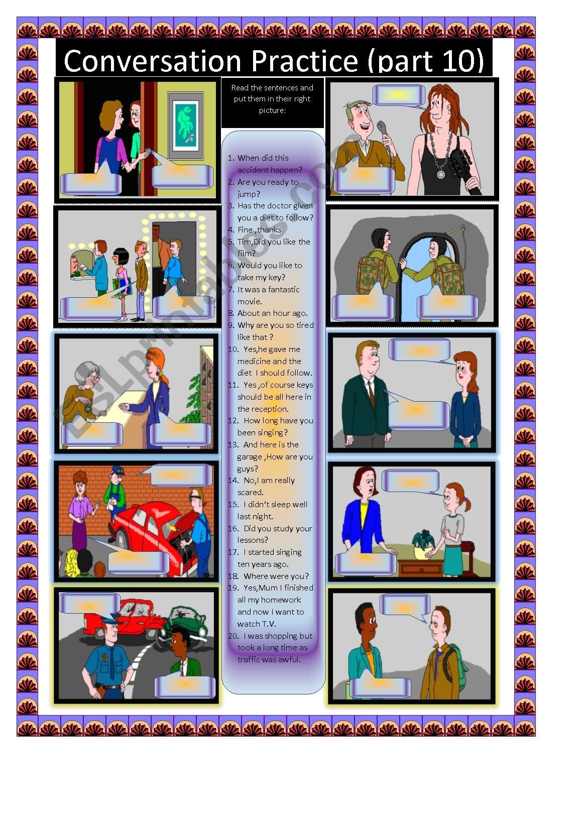 Conversation Practice Part 10