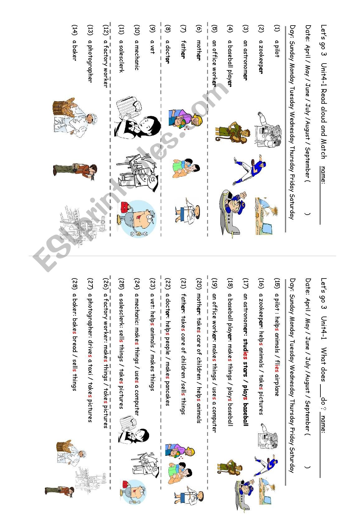 Occupations What Does A Zookeeper Do Let S Go 3