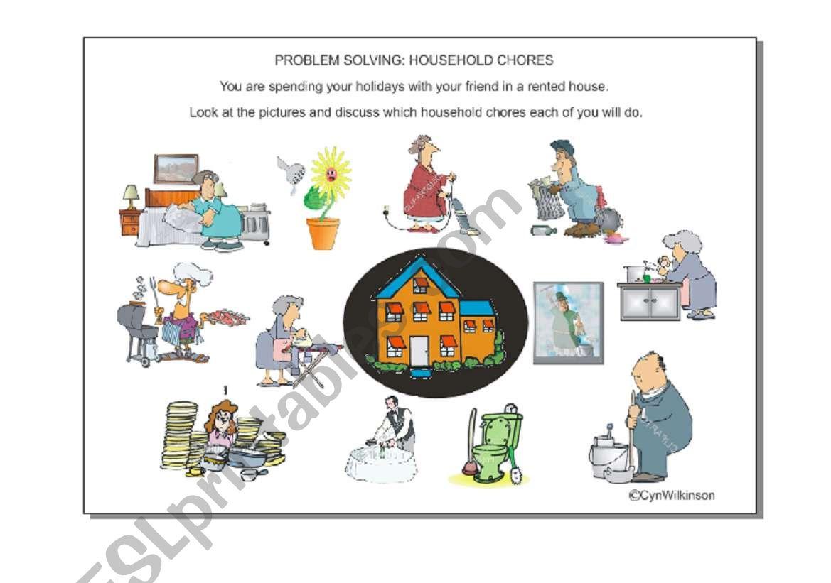 Problem Solving Household Chores