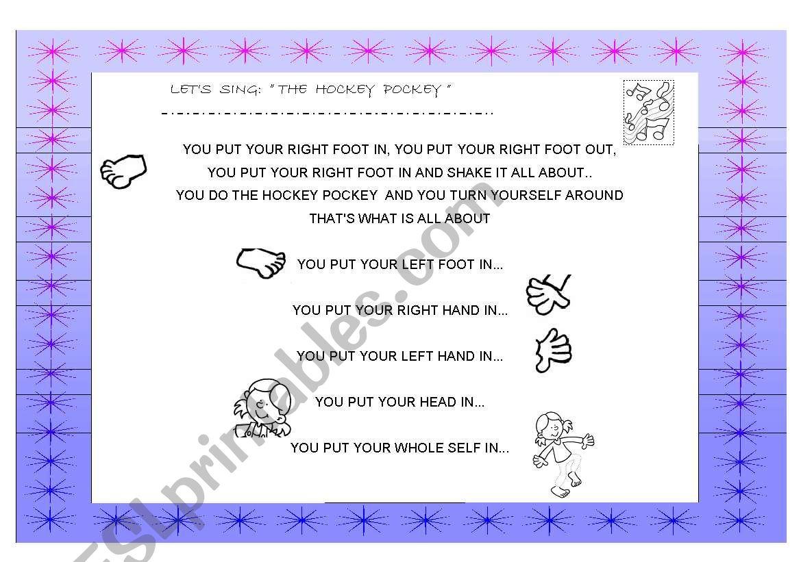 The Hockey Pockey Song