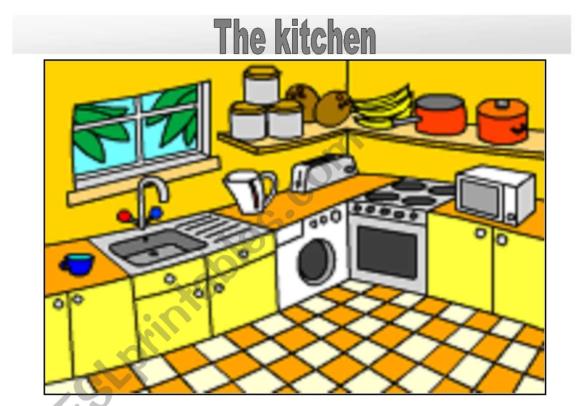Rooms In The House Flashcards The Kitchen