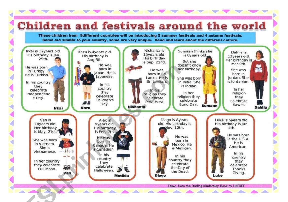 Children Around The World 2