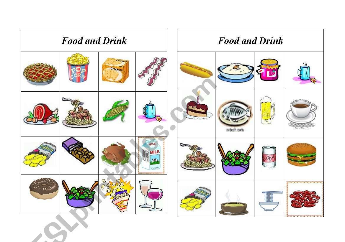 Bingo Food And Drink 8 Of 8