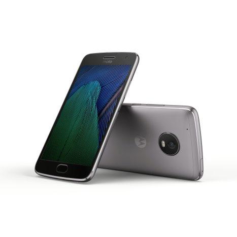 Moto G5 Plus_Black_Front_Back