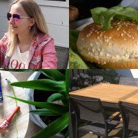 Diary #107: nieuwe tuinset en zelfgemaakte burgers