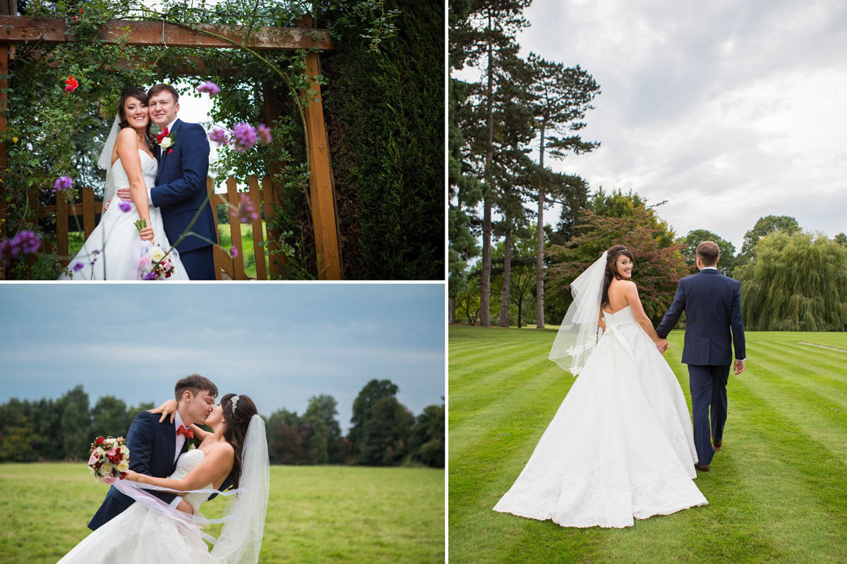 bride and groom beautiful photo brockencote hall