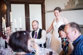 bride mingle guests long gallery