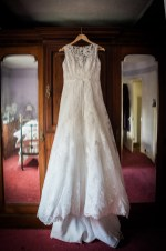 Wedding dress hanging wardrobe somerford hall