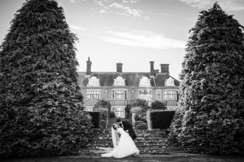 Dunchurch Park Wedding classic gamourous bride and groom romantic
