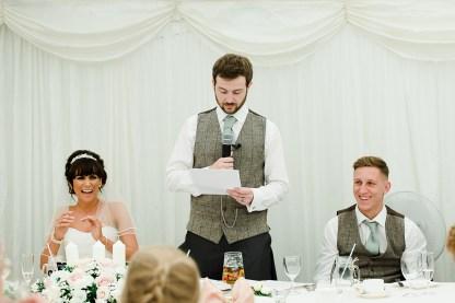 Grooms Speech Dunchurch Park Marquee Wedding