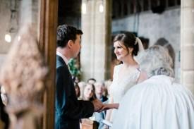 wedding ceremony bradley church staffordshire