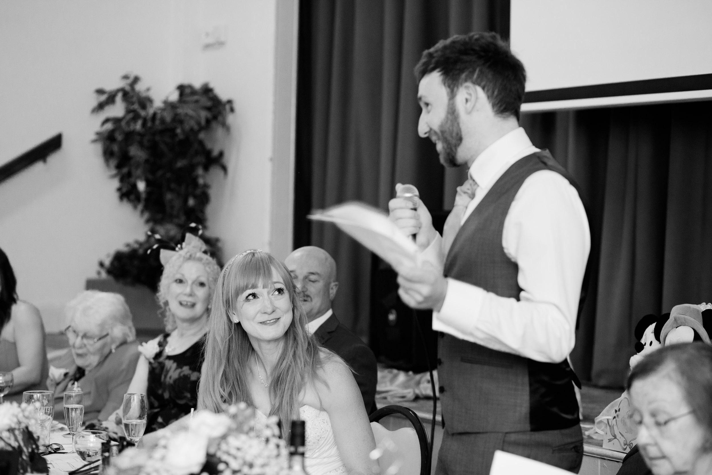 Fun Country Wedding Claverdon Village Hall -100
