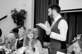 Fun Country Wedding Claverdon Village Hall -100