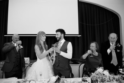 Fun Country Wedding Claverdon Village Hall -109