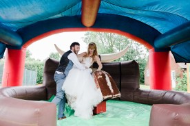 Fun Country Wedding Claverdon Village Hall -113