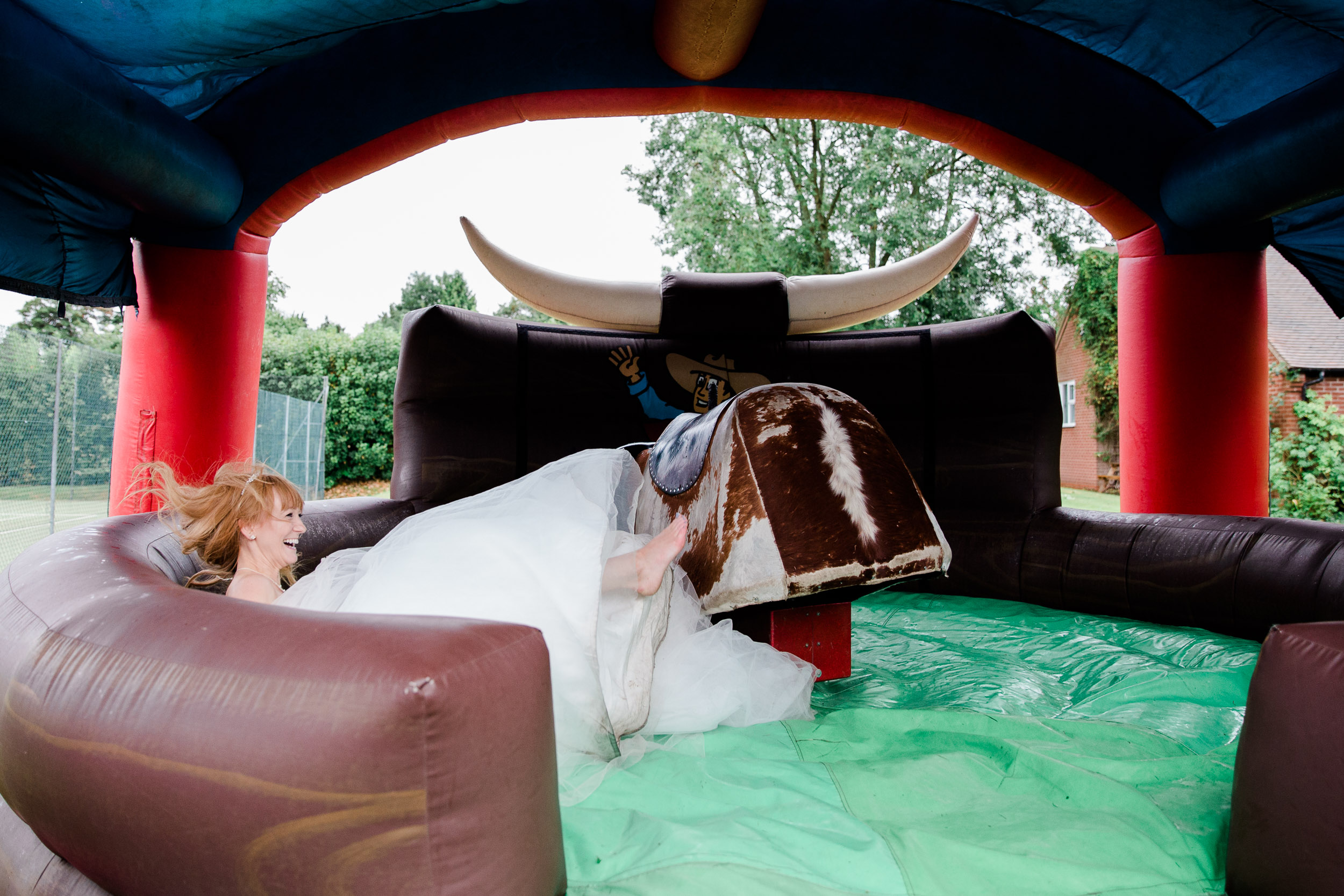 Fun Country Wedding Claverdon Village Hall -115