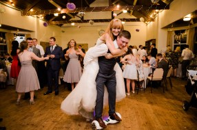 Fun Country Wedding Claverdon Village Hall -126