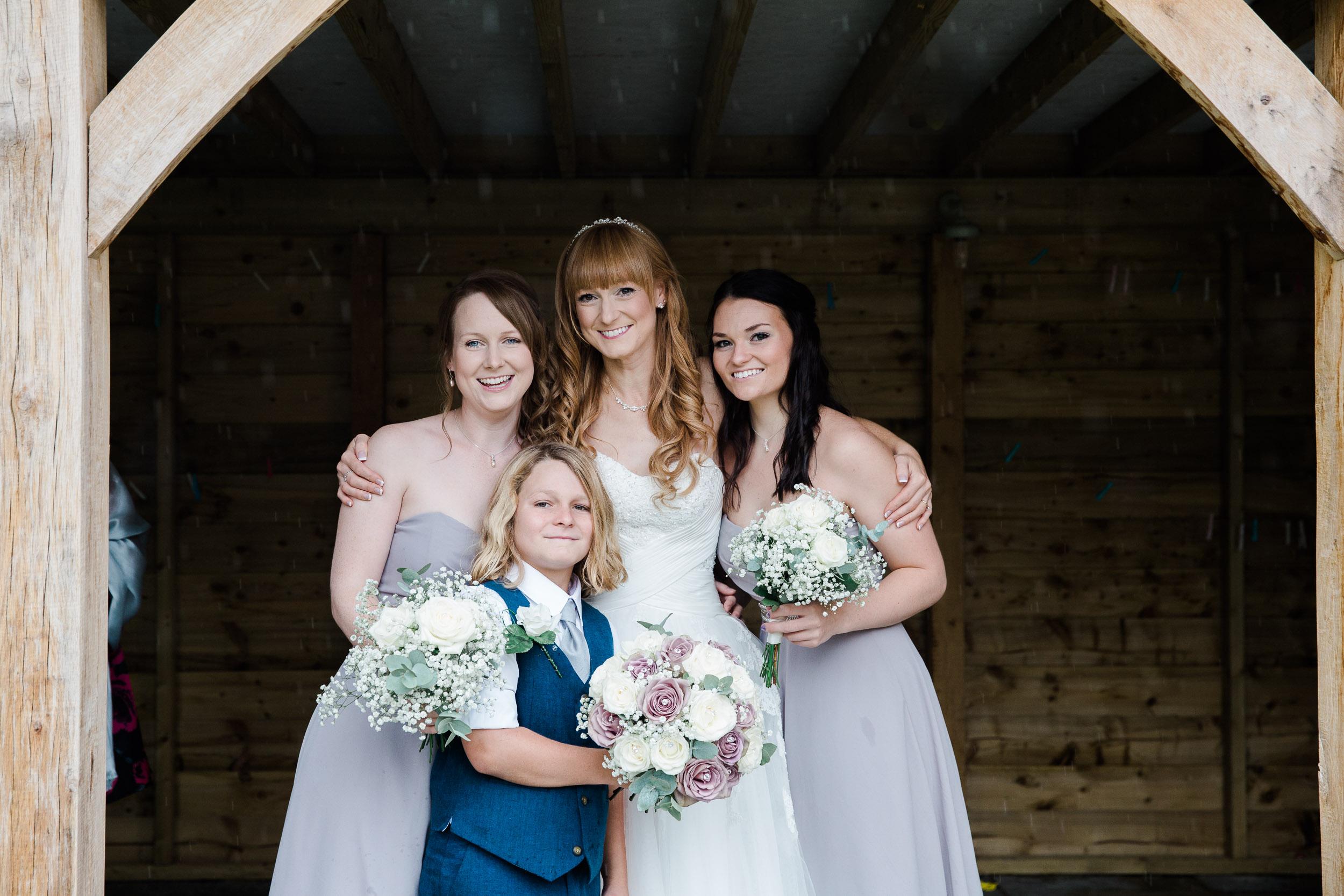 Fun Country Wedding Claverdon Village Hall -25