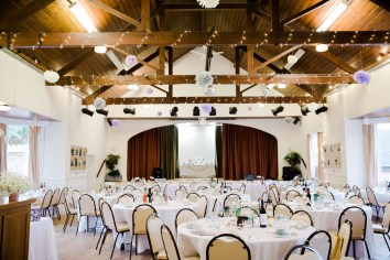 Fun Country Wedding Claverdon Village Hall -83