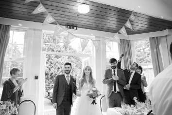 Fun Country Wedding Claverdon Village Hall -84