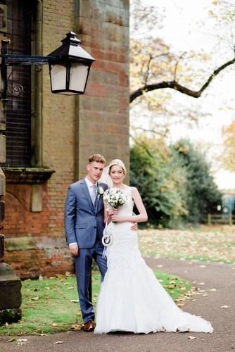 autumn wedding in warwickshire