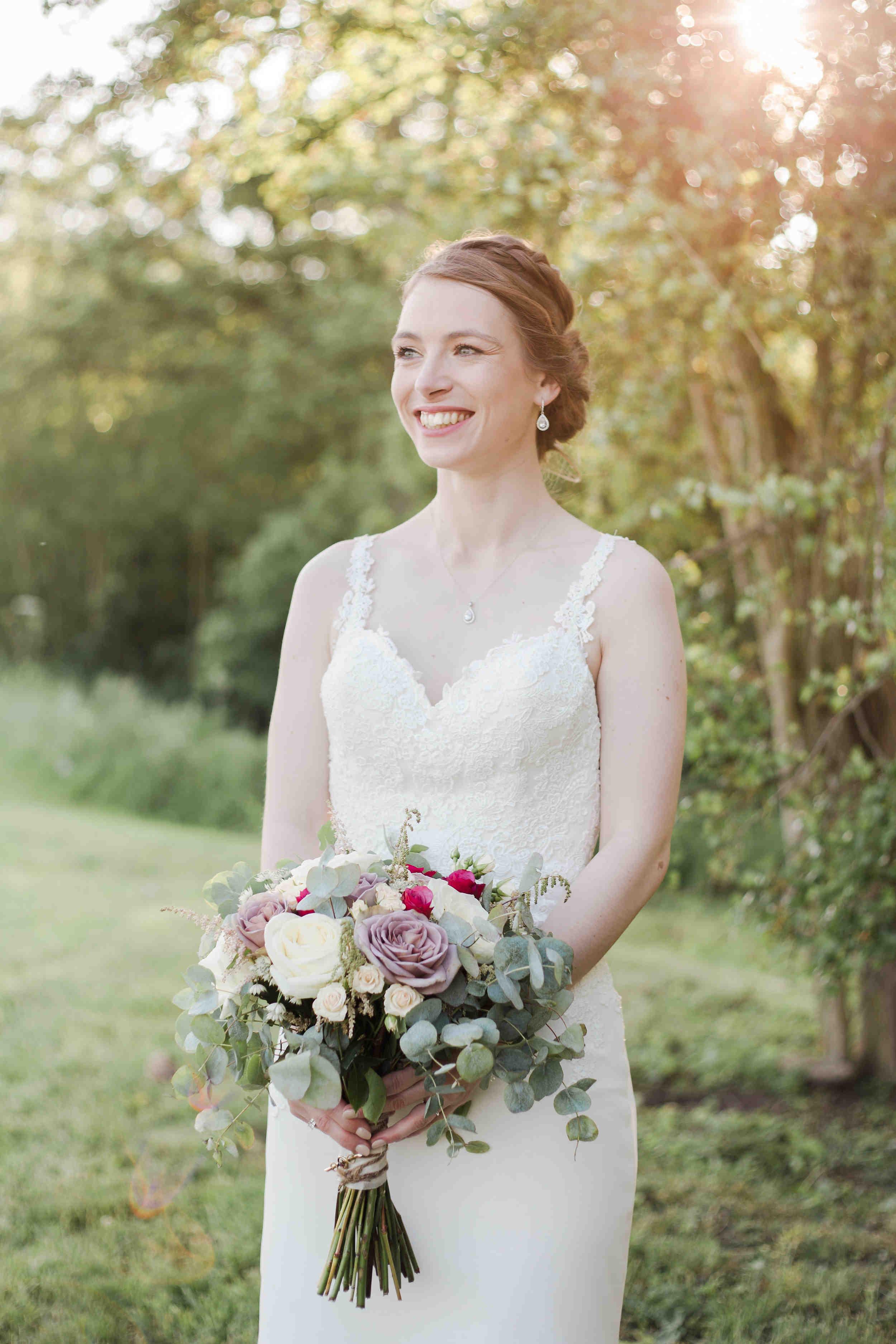 bridal portrait swallows nest