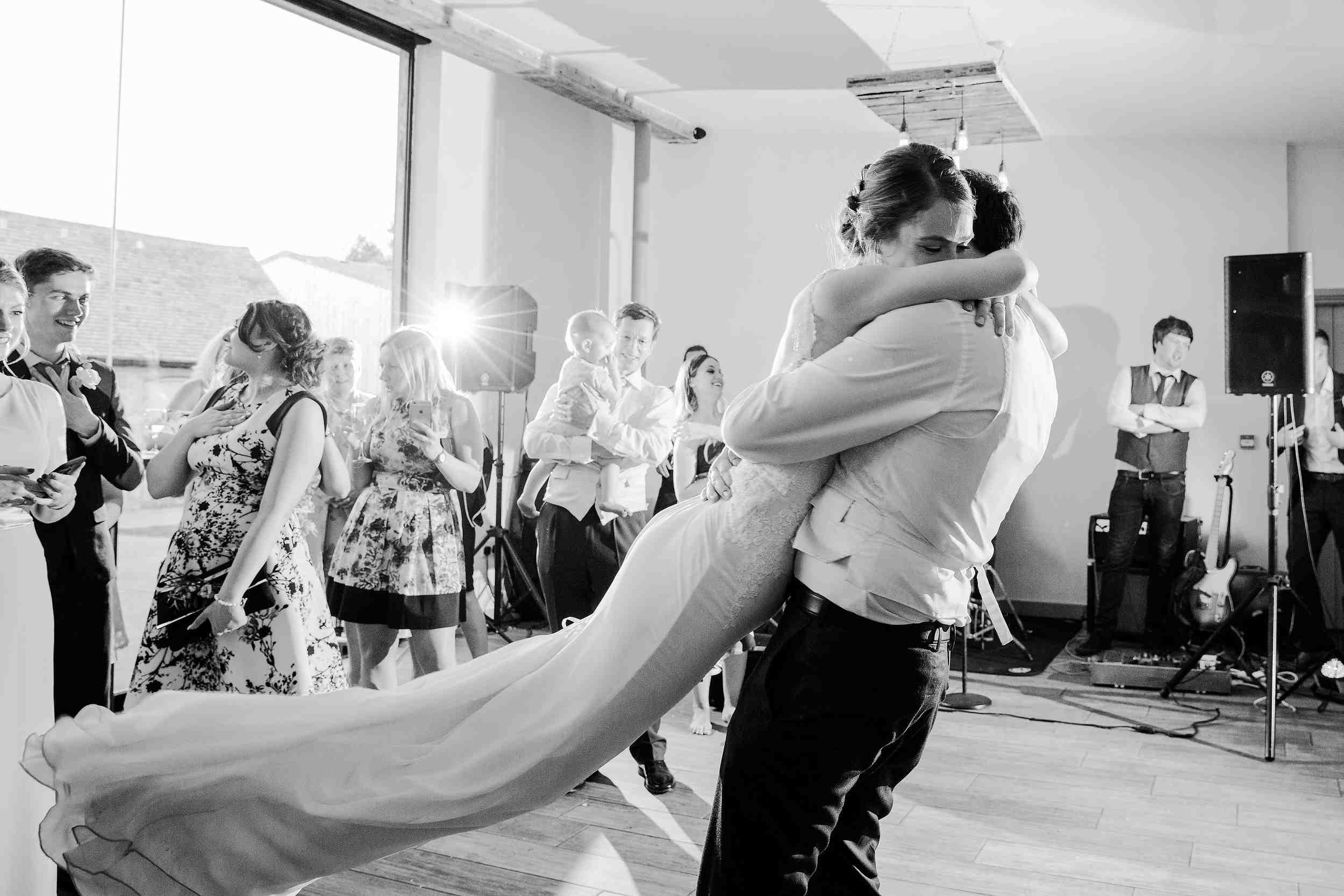first dance swallows nest barn