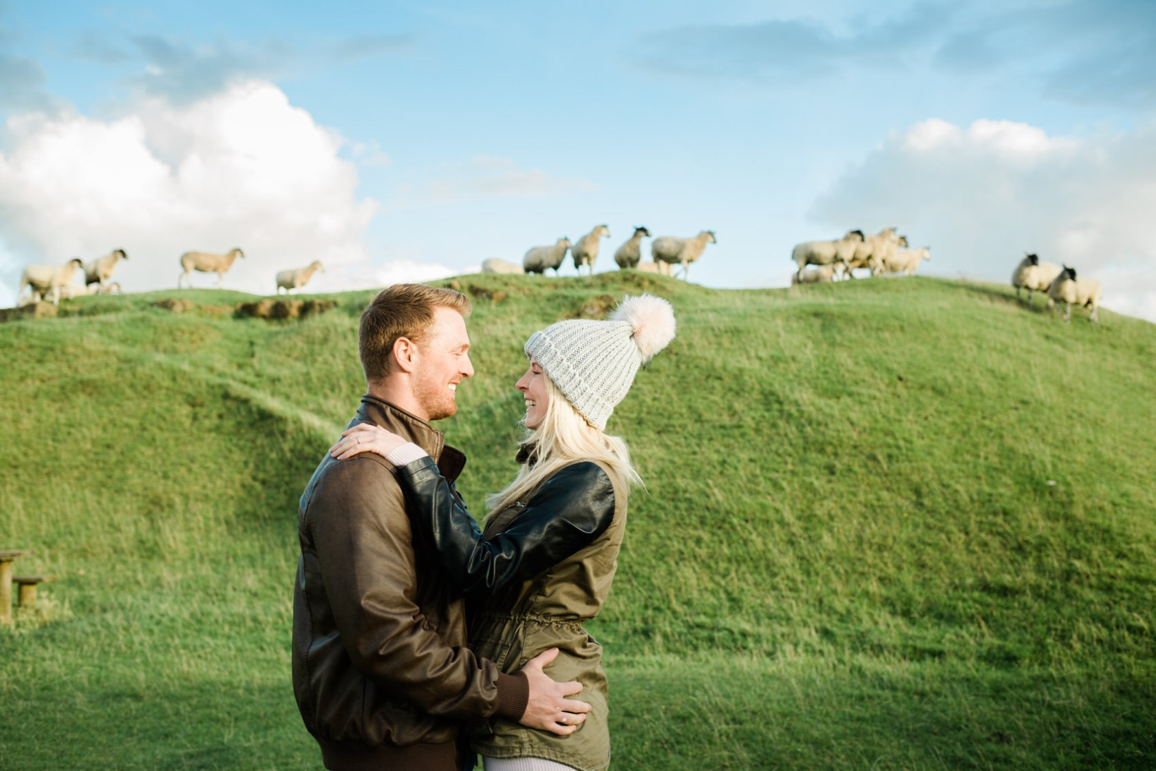 Burton Dassett Hills Pre-Wedding Shoot