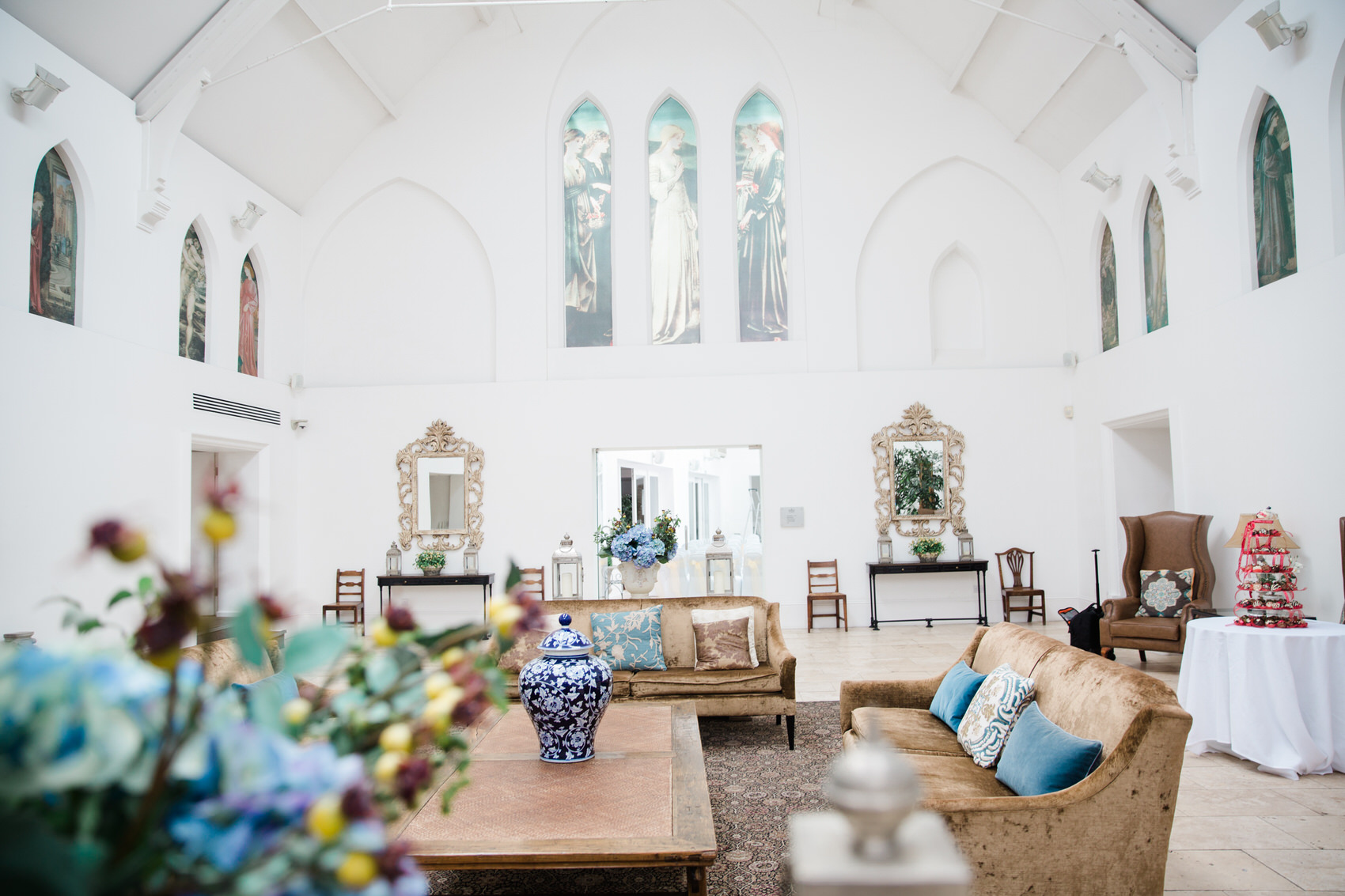 Glamorous Alternative Wedding at Fazeley Studios001
