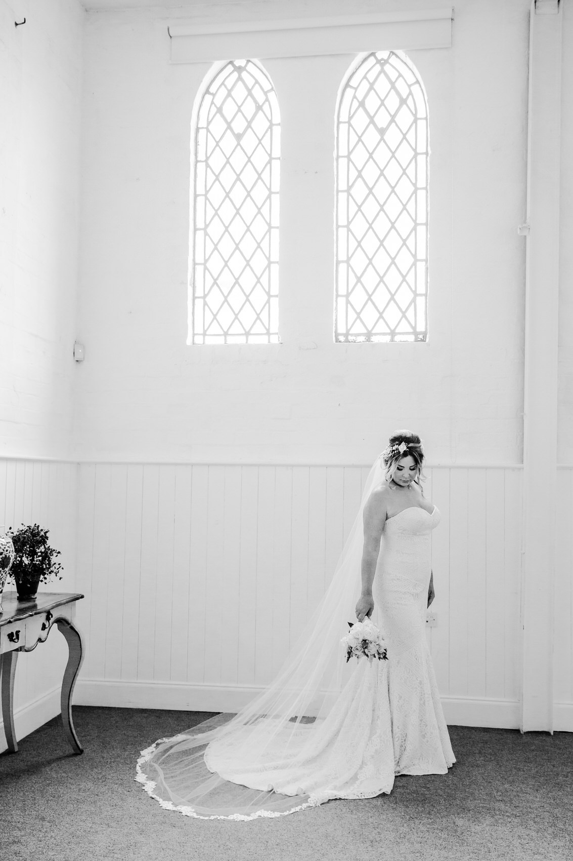 Glamorous Alternative Wedding at Fazeley Studios022