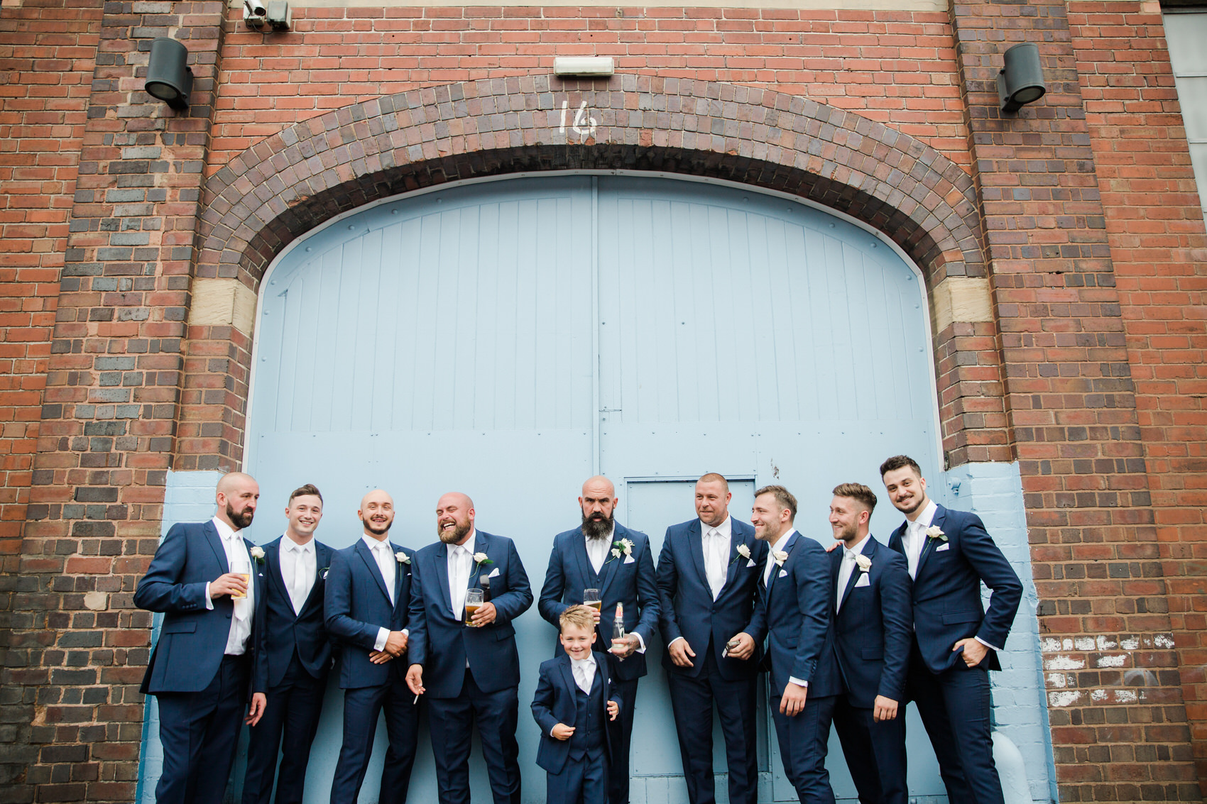 Glamorous Alternative Wedding at Fazeley Studios050