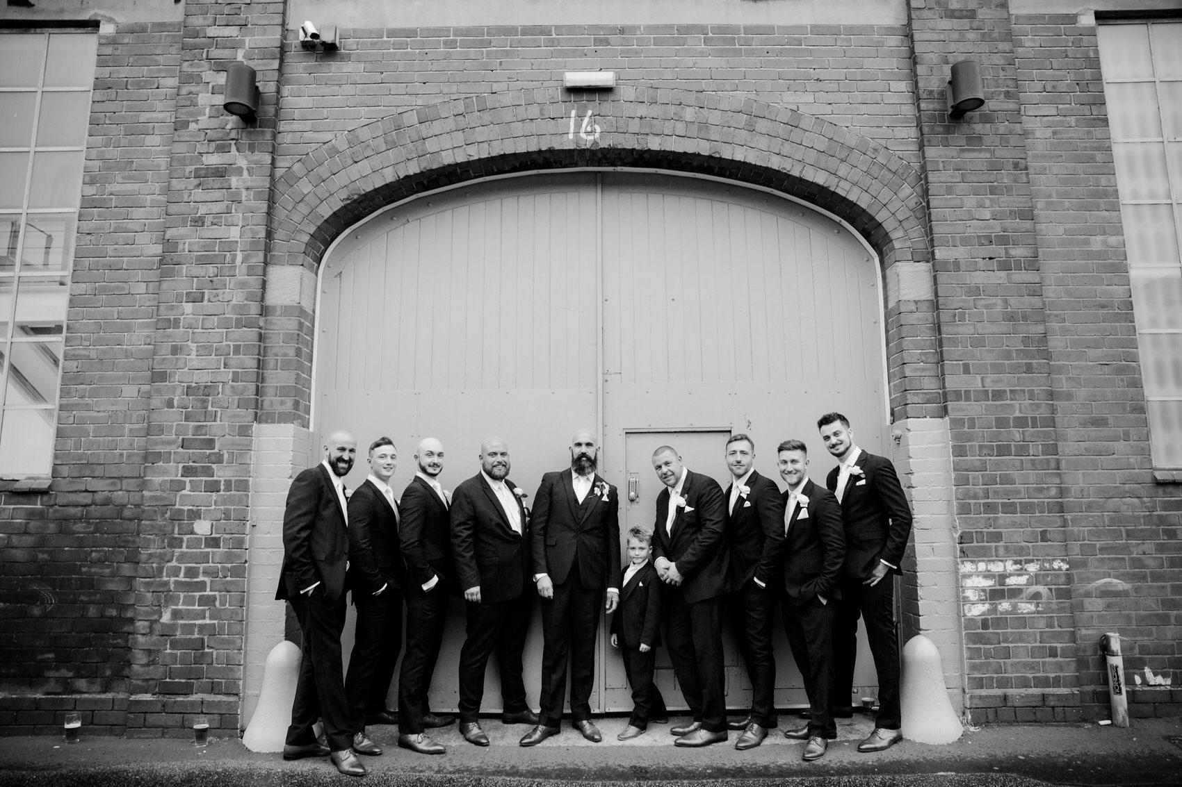 Glamorous Alternative Wedding at Fazeley Studios051