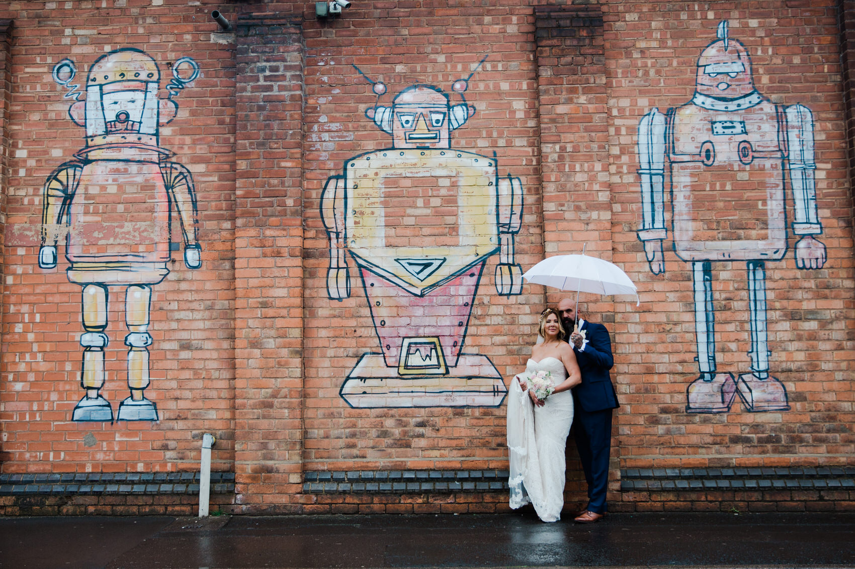 Glamorous Alternative Wedding at Fazeley Studios058