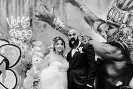 Glamorous Alternative Wedding at Fazeley Studios072