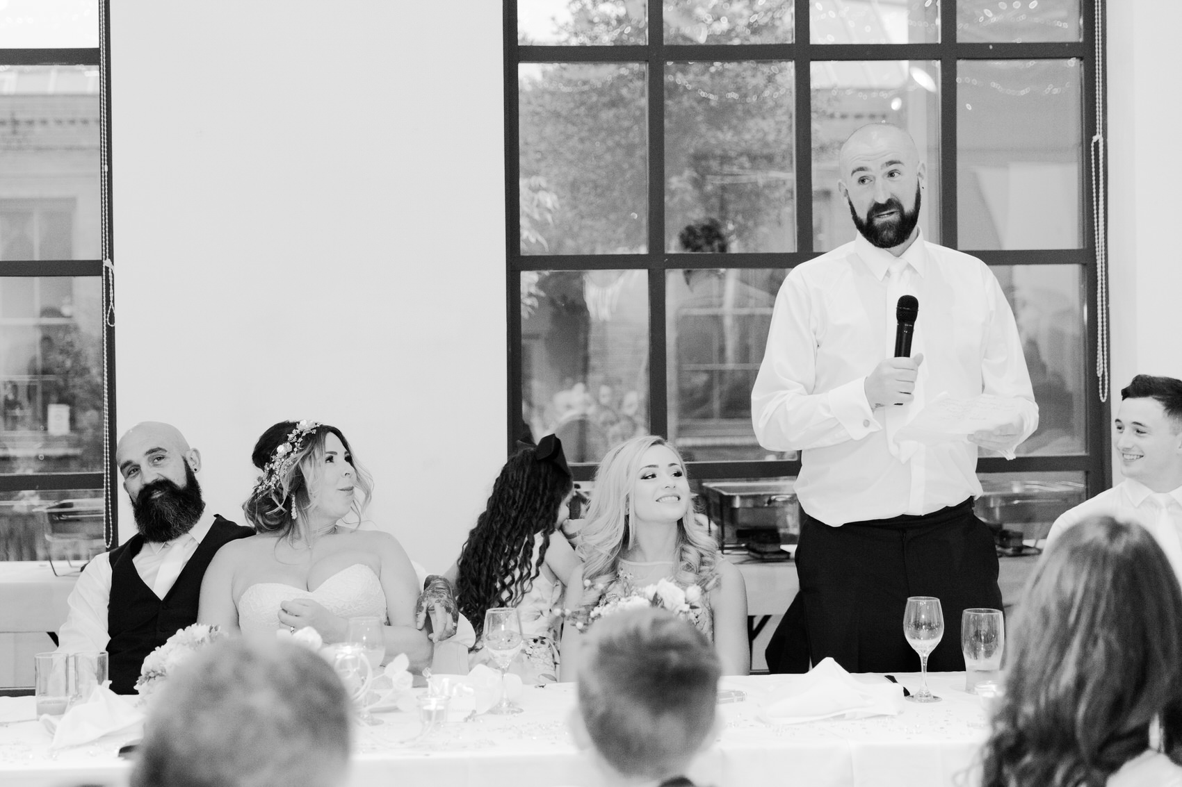 Glamorous Alternative Wedding at Fazeley Studios085