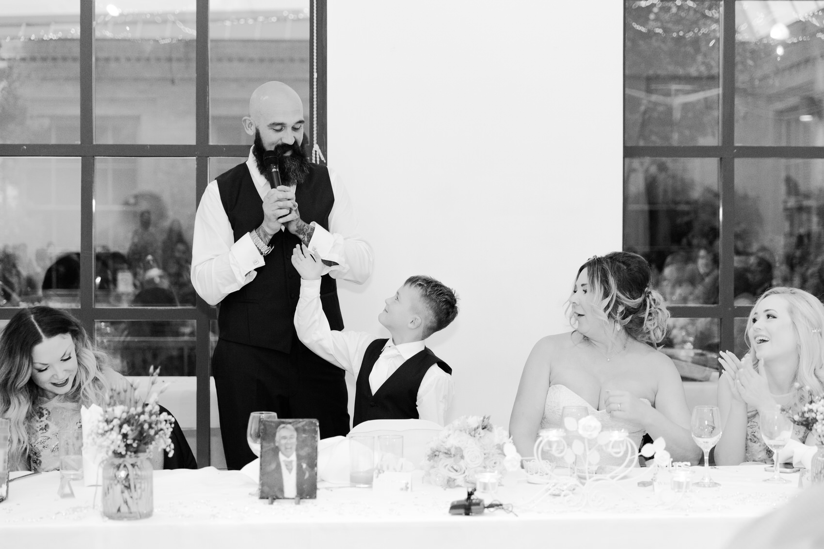Glamorous Alternative Wedding at Fazeley Studios093