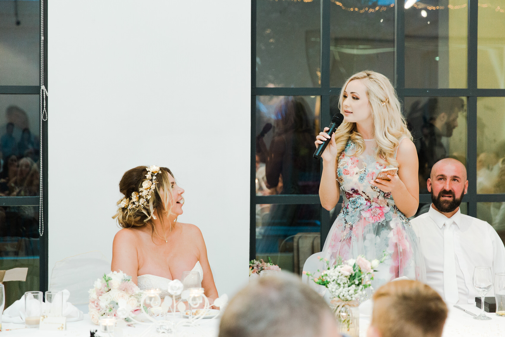 Glamorous Alternative Wedding at Fazeley Studios097