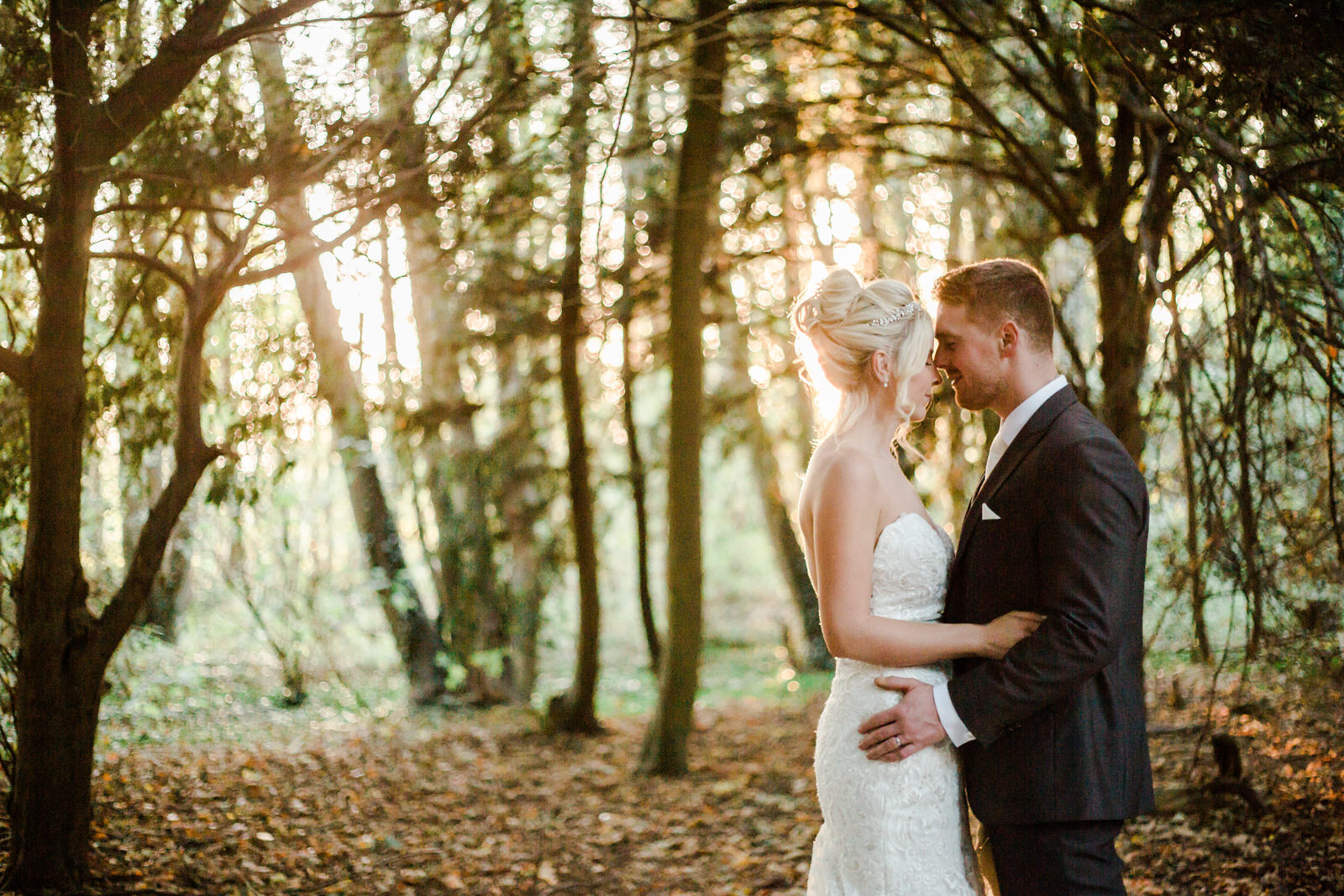 Relaxed Forest Wedding at Brandon Hall warwickshire wedding photographer based in Leamington spa