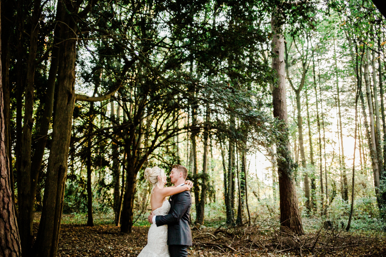 114Relaxed Forest Wedding at Brandon Hall
