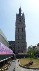market e torre orologio gent