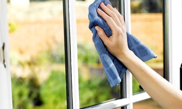 Limpieza de techos vidrios cortinas y manchas de pintura